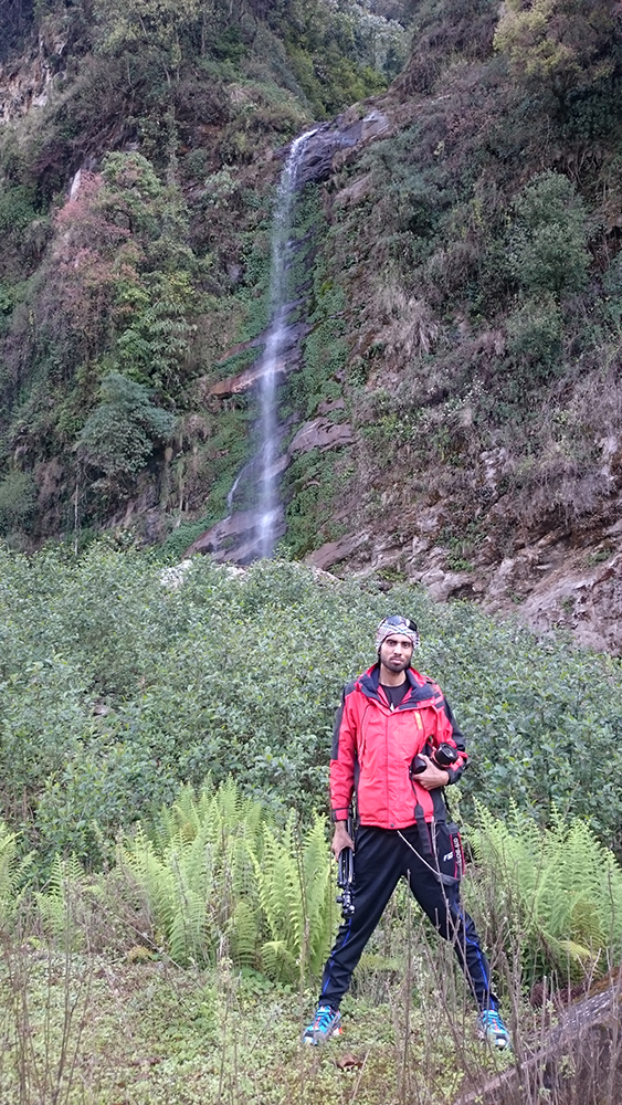Waterfall In Green Nature _ Saroj Pandey