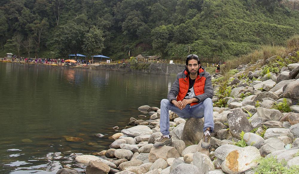 Relaxing... Begnas Lake