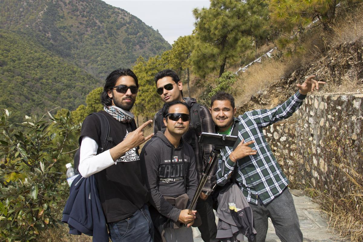 Rocking Friends... Way to Chandragiri...