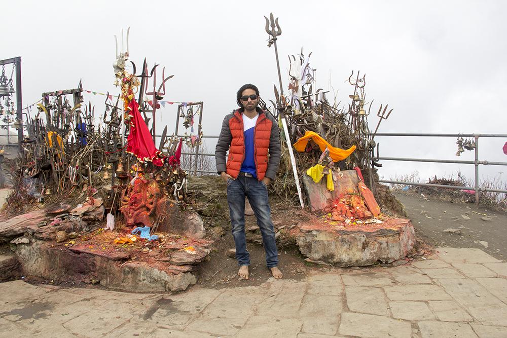 Saroj Pandey _ At the top of Kalinchwok